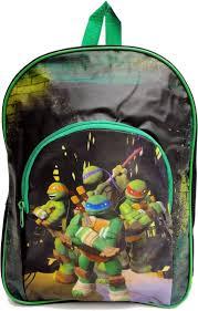 nickelodeon teenage mutant ninja turtles rugzak kinderen groen