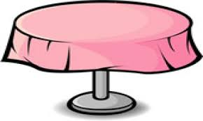 round table clipart.  Table Dining Table Clipart For Round Table Clipart L