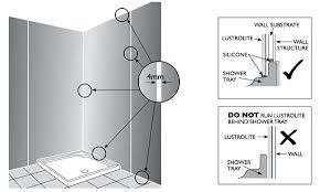 installing shower surround installation installing shower surround with window installing shower walls over tile installing shower surround
