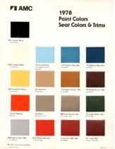 2019 Peterbilt Color Chart Dezos Garage 1970 1979 Amc Car Pdf Sales Brochure Catalog