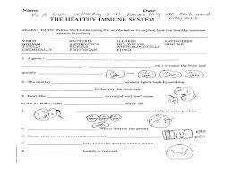 High School Health Worksheets Free Printable Middle Pdf
