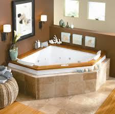 Bathtubs Idea, Corner Tub Shower Combo Corner Bathtub Shower Combination  Attractive Corner Whirpool Jacuzzi With