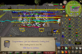 """Finally achieved 99 cooking #runescape #game #rs Buy rs gold cheap with 6% off code """"RS6OFF"""" at rsorder.com. 