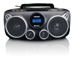 Lenco SCD-100 Portable Radio CD - Bluetooth USB Black Radio/CD player | Compact Lenco.com