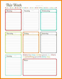 week at a glance calendar week at a glance calendar printable printable online calendar