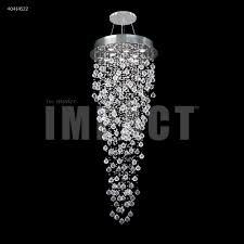 crystal rain entry chandelier