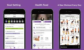 app features goal setting health feed a new workout every day