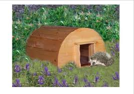 Hedgehog house   by Andy    s Woodwork and carpentry   LumberJocks    Hedgehog house