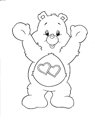 Care Bears Coloring Pages Care Bear
