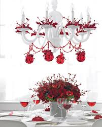 red chandelier source