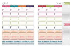 daily planning calendar 2019 2020 dated 2 page daily planner calendar