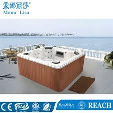 china 4 person outdoor square air bubble jet bathtub m 3347 china hot jacuzzi bathtub hydro hot spa bathtub