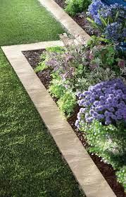 flower bed trim ideas garden edging