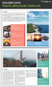 Travel Brochure Cover Design 21 Creative Brochure Cover Design Ideas For Your Inspiration