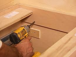 Kitchen Cabinet Fasteners How To Install Kitchen Cabinets How Tos Diy