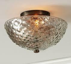 hampton bay glass shade semi flush mount light available on home depot