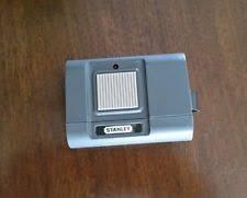vine stanley garage door opener remote control 1 on a9k9kg w visor clip