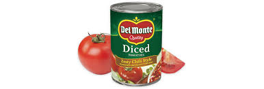 diced tomatoes zesty chili style