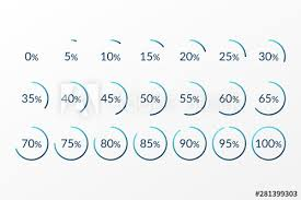 30 45 60 Chart Percentage Vector Infographics 0 5 10 15 20 25 30 35 40 45
