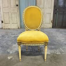 french chair upholstery ideas. oval back louis xvi gold/mustard yellow chair - chicago, il http:/. gold chairsyellow chairsfrench chairsvintage ideasupholstered french upholstery ideas