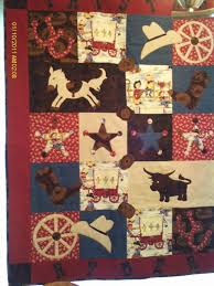 950 best Cowboy Quilt Ideas images on Pinterest | Quilt block ... & handmade cowboy quilt | Cowboy/cowgirl themed baby quilt by RaynesLegacy on  Etsy Adamdwight.com