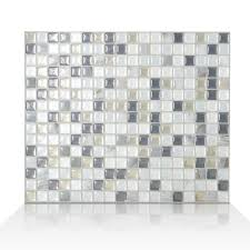 this review is from minimo noche 11 55 in w x 9 64 in h l and stick self adhesive decorative mosaic wall tile backsplash