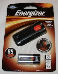 Energizer 2aaa Cap Light New Energizer Led Cap Light 85 Lumens 2 Aaa Batteries Included