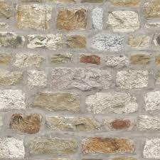 brick effect wallpaper slate stone