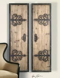 large wood wall art decorative rustic wood wrought iron large wooden wall art uk