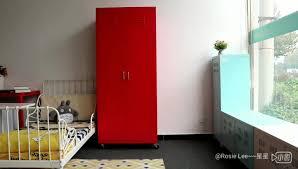 door cold rolled steel locker awesome korean style mobile double door steel locker wardrobe cabinet with