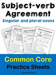 The 25+ best Subject verb agreement ideas on Pinterest   Subject ...