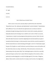 lit short critical essay on feminist theory ethnicity lit 4554 short critical essay on feminist theory ethnicity race gender feminism