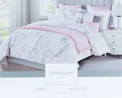 pale pink bedding. Contemporary Bedding Cynthia Rowley Gray Dusty Rose Bedding 3pc Set Grey Tan Pale Pink Eiffel  Script Parisian Theme And T