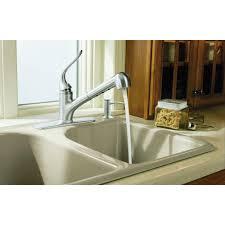 Kohler Coralais Kitchen Faucet Kohler Coralais Single Handle Pull Out Sprayer Kitchen Faucet With