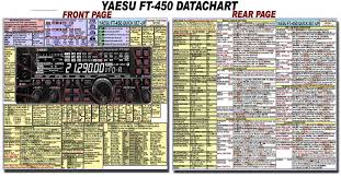 yaesu ft ft d amateur ham radio datachart x  be sure to check out some of my special amateur radio datacharts