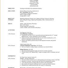 Save Sample College Student Resume For Summer Internship | Onda ...