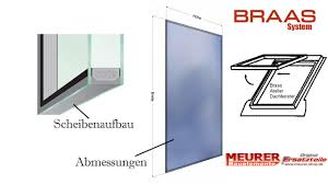Ersatz Austausch Glas Scheiben Für Braas Dachfenster Maß Tabelle Semab