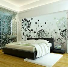 Black White Painting Wall Murals for Creativity
