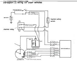 starter relay wiring ford bronco forum the brown wire should hook to the i post on the starter relay it powers the coil while you are cranking the engine the red blue wire is from the key switch