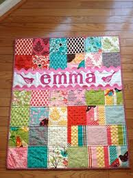 Best 25+ Baby quilts ideas on Pinterest | Baby quilt patterns ... & Tutorial: Ric-Rac Applique. Onesie QuiltQuilt BabyApplique ... Adamdwight.com