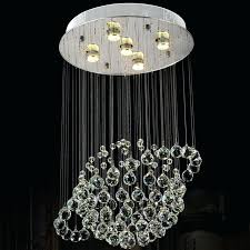 crystal flush mount chandelier modern globe crystal flush mount lighting fixtures luxury raindrop ceiling lamp hotel crystal flush mount chandelier