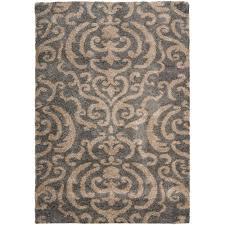 safavieh florida gray beige 8 ft x 10 ft area rug