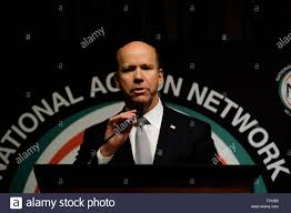 New York, New York, USA. 4th Apr, 2019. Presidential Candidate JOHN DELANEY  speaks at the National Action Network in Midtown, Manhattan. Credit: Preston  Ehrler/ZUMA Wire/Alamy Live News Stock Photo - Alamy