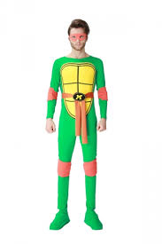ninja turtles costumes for men. Exellent Men Elastic Teenage Mutant Ninja Turtles Halloween Costume For Men Orange On Costumes E