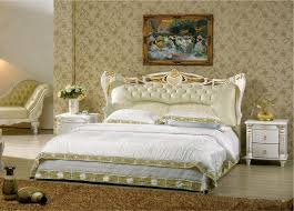 contemporary leather bedroom furniture. Perfect Leather Diamond Tufted French Contemporary Modern Leather Sleeping Bed King Size Bedroom  Furniture Made In China And Contemporary Leather Bedroom Furniture U
