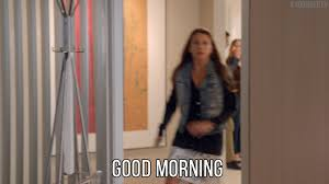 Funny Good Morning Movie Quotes Best of Good Morning Hello GIF By YoungerTV Find Share On GIPHY