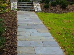 how to build a stone walkway diy