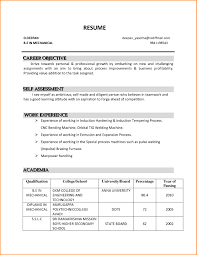 Basic Resume Examples 2014 Career Goal For Resume Examples Cover Letter Sample It 24 18
