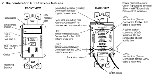 wiring diagram for a gfci outlet the wiring diagram question re wiring pumps to switches equipment and wiring diagram