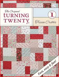 Turning Twenty Original Fat Quarter Quilt Pattern Booklet &  Adamdwight.com